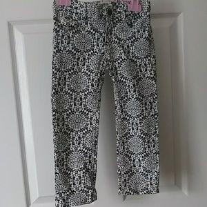 Osh Kosh Navy and White Patterned Pants